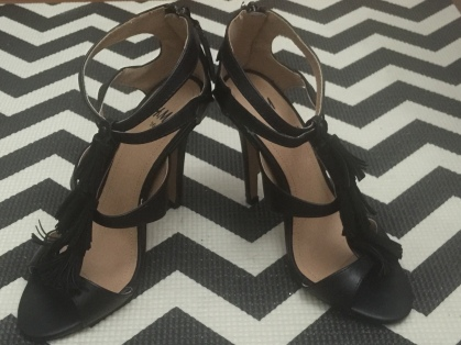 H&M shoes that I got on sale (from Php2290 to Php700)