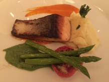 Grilled Tasmanian Salmon Trout